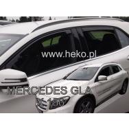 HEKO ofuky oken Mercedes Benz GLA X156 5dv (2014-) přední + zadní