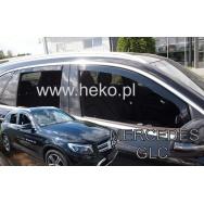HEKO ofuky oken Mercedes Benz GLC X253 5dv (2016-) přední + zadní