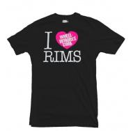 Wheel Whores tričko dámské - I Heart Rims, velikost XS