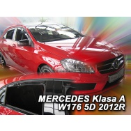 HEKO ofuky oken Mercedes Benz A W176 5dv (2012-2018) přední + zadní