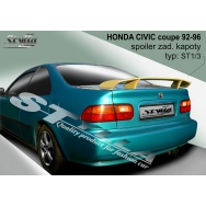 Stylla spoiler zadního víka Honda Civic coupé (1992 - 1996)
