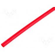 Smršťovací trubice 4.8 mm červená