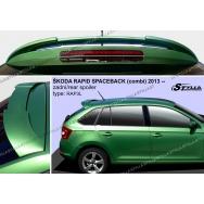 Stylla spoiler zadních dveří Škoda Rapid Spaceback
