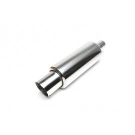 TA Technix sportovní nerezový tlumič výfuku - zkosená kulatá koncovka, 100/45mm