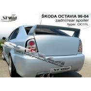 Stylla spoiler zadních dveří Škoda Octavia I htb (1996 - 2004), styl WRC