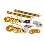 Sandtler rychlozajišťovací zámky kapoty - zlaté