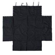 JOM ochranný potah do kufru nylonový - černý, 105 x 97 cm