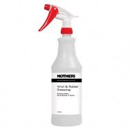 Mothers Professional Vinyl & Rubber Dressing Spray Bottle - dávkovací lahvička s rozprašovačem pro přípravek na obnovu a ochranu gumy, vinylu a plastu, 946 ml