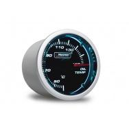 PROSPORT Smoke Lens přídavný ukazatel teploty oleje 50-150st. s kouřovým překrytím