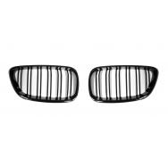 JOM ledvinky přední kapoty BMW 2 (typ F22 / F23, r. v. od 2013) - černé, M Style