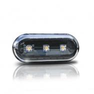 Boční blinkry VW T5 s LED, černé