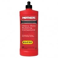 Mothers Professional Heavy Duty Rubbing Compound - vysoce účinná profesionální brusná a leštící pasta (abrazivní leštěnka), 946 ml