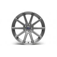 TA Technix XF2 ALU lité kolo konkávní 9,5x19 - šedá Gunmetal, 5x112, 66,6/57,1 ET35