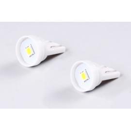 Žárovky do parkovaček - LED bílé T10