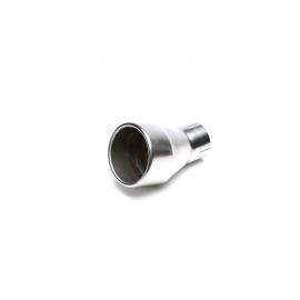 TA Technix koncovka výfuku nerezová - kulatá / trychtýř, průměr 64 - 100mm